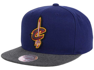 Cleveland Cavaliers Mitchell & Ness NBA Team Color Cation Snapback Cap