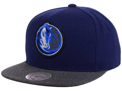 Dallas Mavericks Mitchell & Ness NBA Team Color Cation Snapback Cap