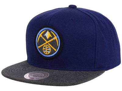 Denver Nuggets Mitchell and Ness NBA Team Color Cation Snapback Cap