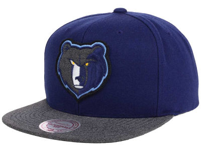 Memphis Grizzlies Mitchell and Ness NBA Team Color Cation Snapback Cap