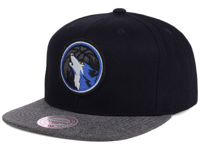 Minnesota Timberwolves Mitchell and Ness NBA Team Color Cation Snapback Cap