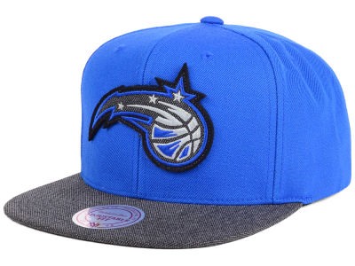 Orlando Magic Mitchell and Ness NBA Team Color Cation Snapback Cap