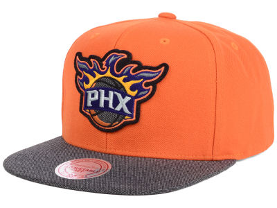 Phoenix Suns Mitchell and Ness NBA Team Color Cation Snapback Cap