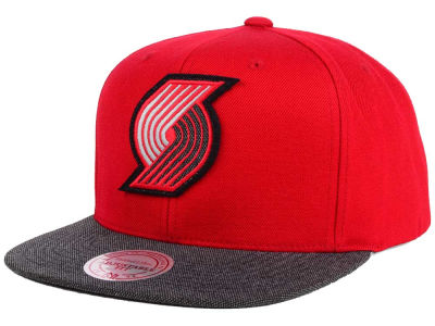 Portland Trail Blazers Mitchell & Ness NBA Team Color Cation Snapback Cap