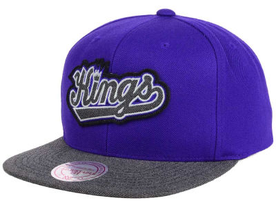 Sacramento Kings Mitchell & Ness NBA Team Color Cation Snapback Cap