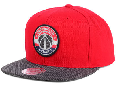 Washington Wizards Mitchell and Ness NBA Team Color Cation Snapback Cap
