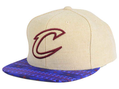Cleveland Cavaliers Mitchell and Ness NBA Hemp Crown 2.0 Strapback Cap