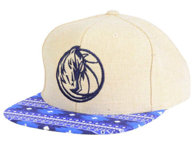 Dallas Mavericks Mitchell & Ness NBA Hemp Crown 2.0 Strapback Cap