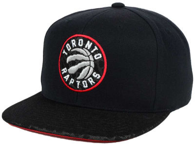 Toronto Raptors Mitchell & Ness NBA Black Reflect Snapback Cap
