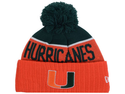 Miami Hurricanes New Era NCAA Sport Knit