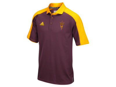 Arizona State Sun Devils adidas NCAA Men's Sideline Polo Shirt