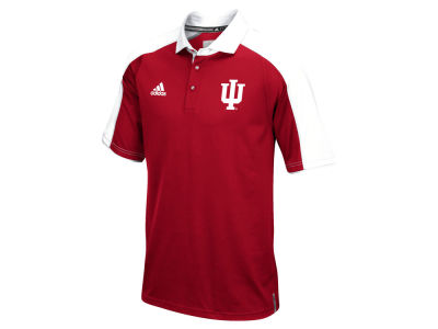 Indiana Hoosiers adidas NCAA Men's Sideline Polo Shirt