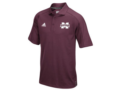 Mississippi State Bulldogs adidas NCAA Men's Sideline Polo Shirt