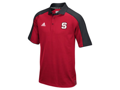 North Carolina State Wolfpack adidas NCAA Men's Sideline Polo Shirt