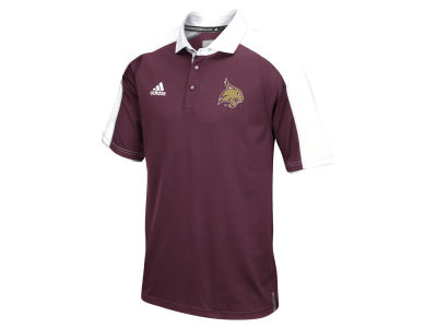 Texas State Bobcats adidas NCAA Men's Sideline Polo Shirt