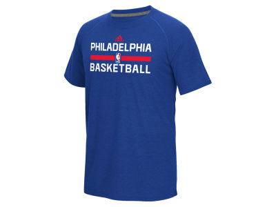 Philadelphia 76ers adidas NBA Men's On Court Graphic Climalite T-Shirt