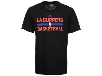 Los Angeles Clippers adidas NBA Men's On Court Graphic Climalite T-Shirt