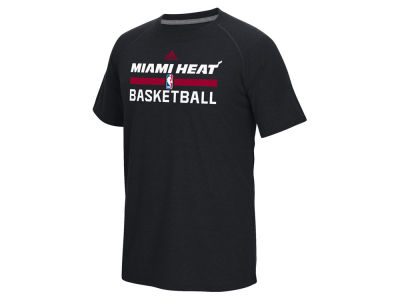Miami Heat adidas NBA Men's On Court Graphic Climalite T-Shirt