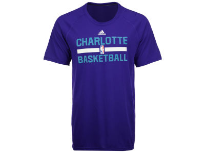Charlotte Hornets adidas NBA Men's On Court Graphic Climalite T-Shirt