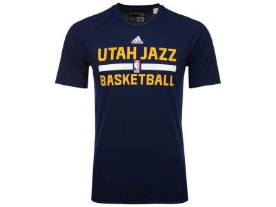 Utah Jazz adidas NBA Men's On Court Graphic Climalite T-Shirt