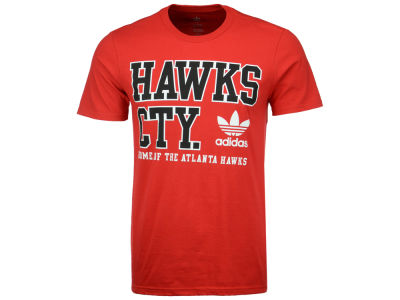 Atlanta Hawks adidas Originals NBA Men's Originals City Stack T-Shirt