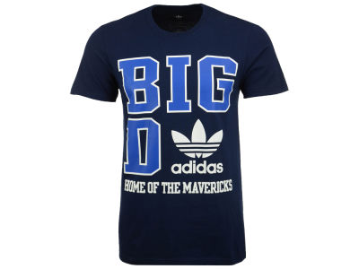 Dallas Mavericks adidas Originals NBA Men's Originals City Stack T-Shirt
