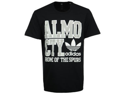 San Antonio Spurs adidas Originals NBA Men's Originals City Stack T-Shirt