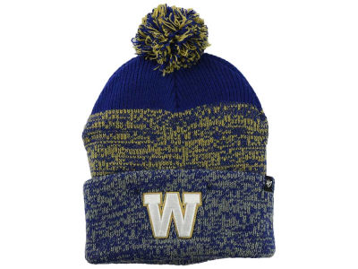 Winnipeg Blue Bombers '47 CFL '47 Static Cuff Pom Knit