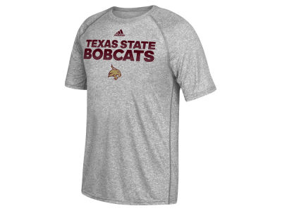 Texas State Bobcats adidas NCAA Men's Sideline Hustle T-Shirt