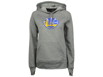 Golden State Warriors adidas NBA Women's Logo Pullover Hooded Sweatshirt