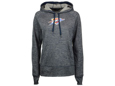 Oklahoma City Thunder adidas NBA Women's Logo Pullover Hooded Sweatshirt