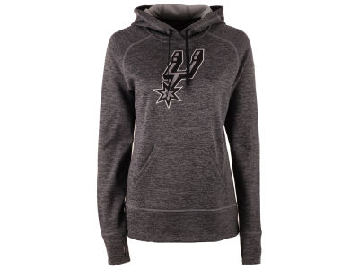 San Antonio Spurs adidas NBA Women's Logo Pullover Hooded Sweatshirt
