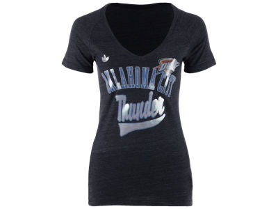 Oklahoma City Thunder adidas NBA Women's Oil Foil T-Shirt