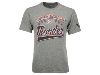 Oklahoma City Thunder adidas Originals NBA Men's Originals Great Logos Tri-Blend T-Shirt