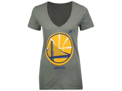 Golden State Warriors adidas NBA Women's Netted Shine T-Shirt