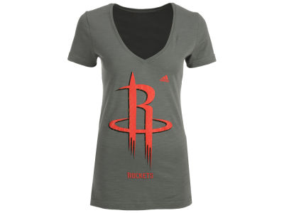 Houston Rockets adidas NBA Women's Netted Shine T-Shirt