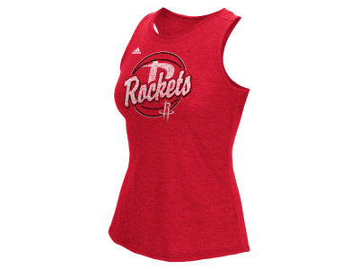 Houston Rockets adidas NBA Women's Logo Ball Tank