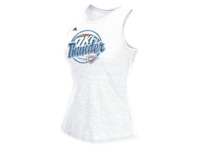 Oklahoma City Thunder adidas NBA Women's Logo Ball Tank
