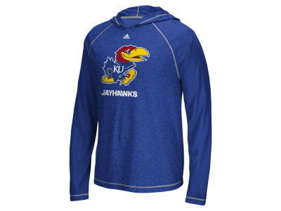 Kansas Jayhawks adidas NCAA Men's Loyal Fan Climalite Hoodie