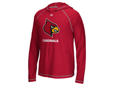 Louisville Cardinals adidas NCAA Men's Loyal Fan Climalite Hoodie