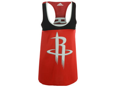Houston Rockets adidas NBA Women's Colorblock Tank