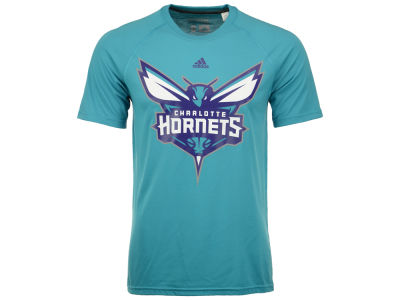 Charlotte Hornets adidas NBA Men's Huge Preferred Climalite T-Shirt