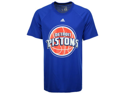 Detroit Pistons adidas NBA Men's Huge Preferred Climalite T-Shirt