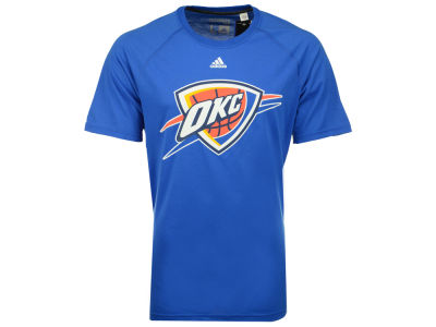 Oklahoma City Thunder adidas NBA Men's Huge Preferred Climalite T-Shirt