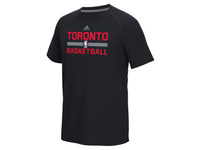 Toronto Raptors adidas NBA Men's On Court Graphic Climalite T-Shirt
