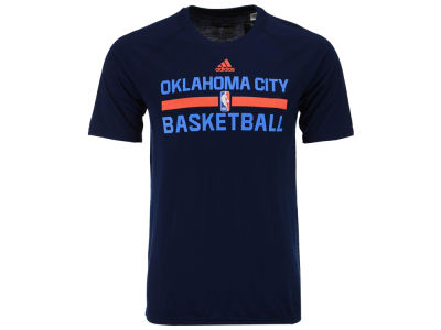Oklahoma City Thunder adidas NBA Men's On Court Graphic Climalite T-Shirt