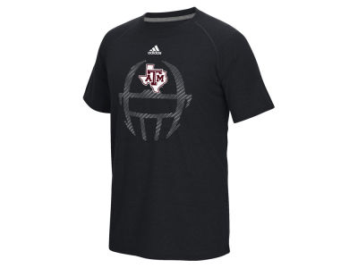 Texas A&M Aggies adidas NCAA Men's Sideline Helmet Dot T-Shirt
