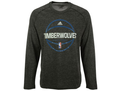Minnesota Timberwolves adidas NBA Men's Climalite Pregame Long Sleeve T-Shirt