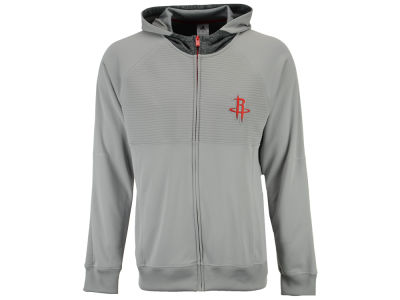 Houston Rockets adidas NBA Men's Pre Game Full Zip Hooded Jacket