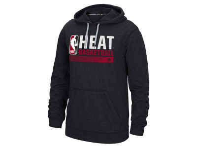 Miami Heat adidas NBA Men's Full Primary Logo Climalite Hoodie